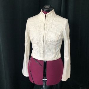 Embroidered cream BeBe Jacket